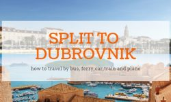 Karte Split Dubrovnik.Sandy Beaches In Croatia List Of Best Beaches In Croatia